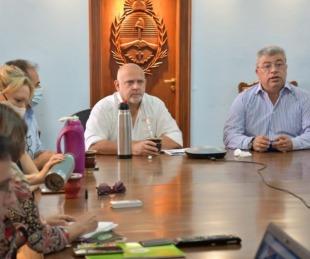 foto: Vignolo y Ortega encabezaron reunión con municipios de Regiones 1 y 6