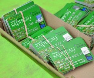 foto: Se habilita el depósito de las tarjetas Sapucay hasta noviembre