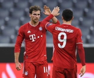 foto: Bayern Múnich aplastó 4-0 al Atlético Madrid en Champions League
