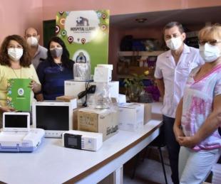 foto: Entregaron equipos para fortalecer la Maternidad del hospital Llano