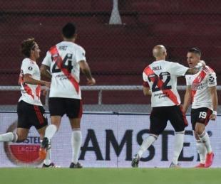 foto: River goleó a Liga y avanza primero: no habrá Superclásico con Boca
