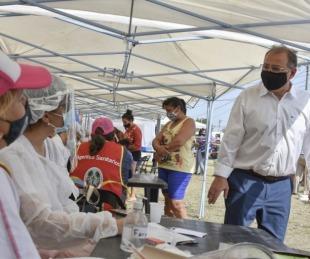 foto: Delegaciones Móviles: Tassano, con los vecinos del Pirayuí Nuevo