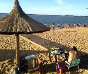 foto: Recién en diciembre se habilitarán las playas en Paso de la Patria