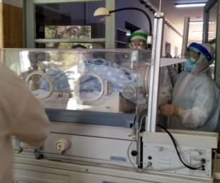 foto: Se produjo el séptimo nacimiento en el Hospital de Campaña