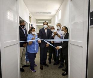 foto: Saladas: Valdés inauguró la refacción del Bloque Quirúrgico Obstétrico del Hospital