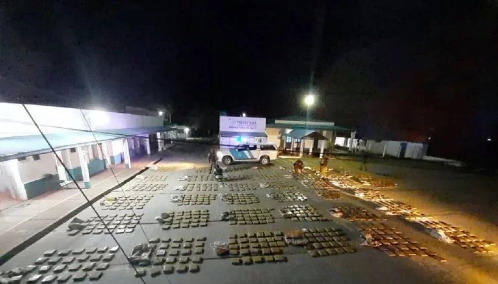 Secuestraron más de una tonelada de marihuana en Itá Ibaté