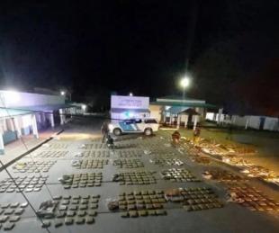 foto: Secuestraron más de una tonelada de marihuana en Itá Ibaté