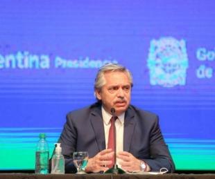 foto: Fernández decidió extender la cuarentena hasta el 8 de noviembre