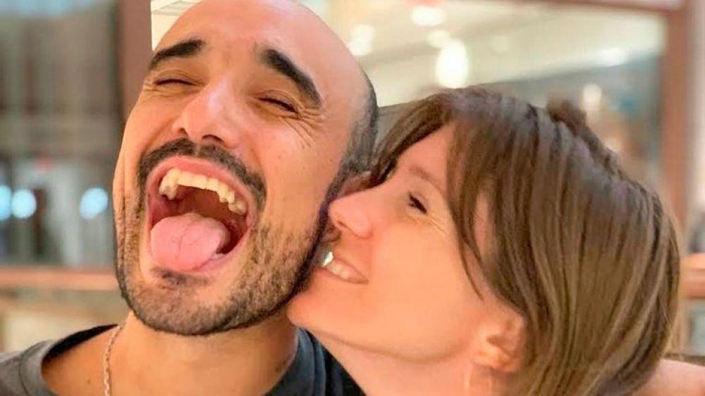 Abel Pintos presentó en sociedad a su hijo Agustín