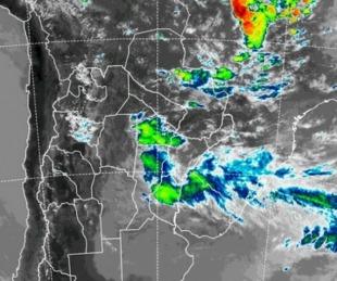 foto: Rige un alerta por tormentas para Corrientes y cinco provincias
