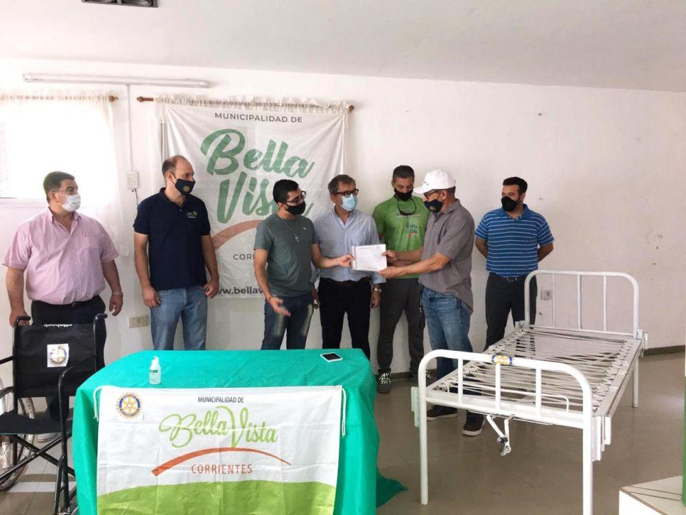 Municipio de Bella Vista recibió una donación del Rotary Club