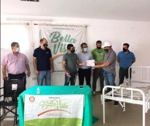 foto: Municipio de Bella Vista recibió una donación del Rotary Club