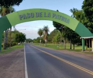 foto: Paso de la Patria suspendió los permisos de ingreso por 48 horas