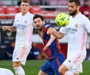 foto: Real Madrid se lució y derrotó al Barcelona en el clásico español