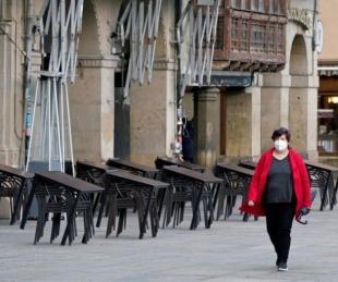 foto: España: aprueban un estado de alarma con toque de queda
