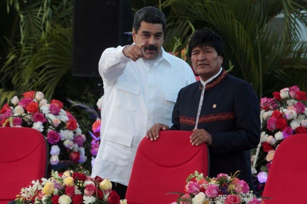 Maduro confirmó que Evo Morales estuvo en Venezuela el fin de semana