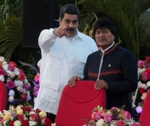 foto: Maduro confirmó que Evo Morales estuvo en Venezuela el fin de semana