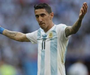 foto: Ángel Di María podría volver a la Selección Argentina