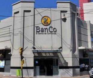 foto: Detectaron un caso positivo de Covid19 en el Banco de Corrientes