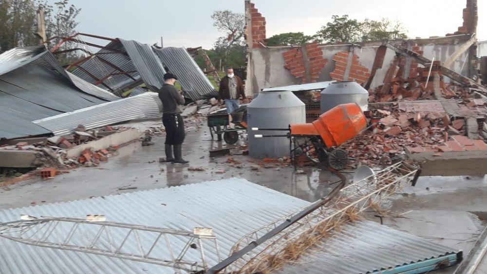 Tras el temporal, la Provincia asiste a las zonas afectadas