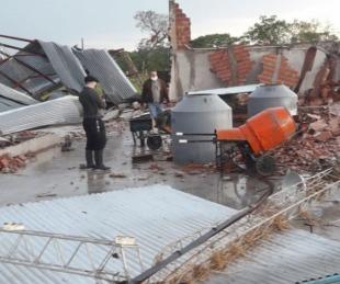 foto: Tras el temporal, la Provincia asiste a las zonas afectadas