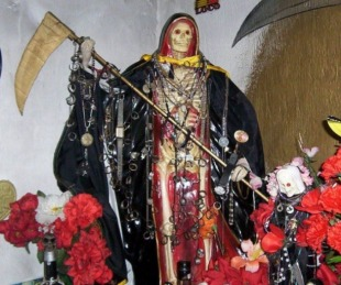 foto: Destripan a indigente como sacrificio ritual para San la Muerte