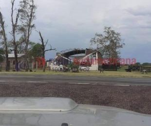foto: En Mercedes cayeron 90 mm y hubo fuertes vientos en varias zonas