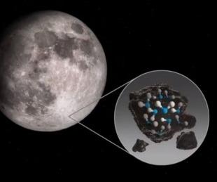 La NASA confirmó que la Luna posee más agua de lo que se creía