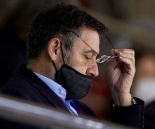 foto: Josep Maria Bartomeu renunció como presidente del Barcelona
