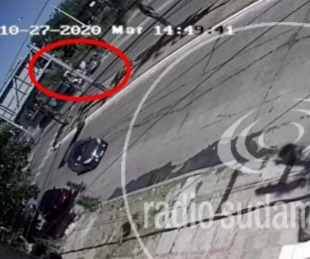 foto: IMPRESIONANTE VIDEO: AS� FUE EL ACCIDENTE ENTRE UN AUTOMÓVIL Y UN CAMIÓN SOBRE AV. 3 DE ABRIL
