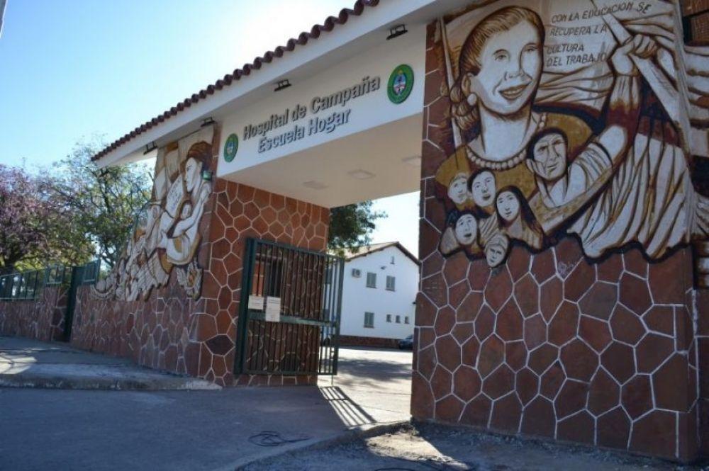 Murió la madre de un funcionario municipal en Hospital de Campaña