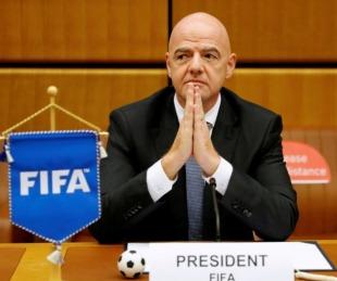 foto: Gianni Infantino, presidente de la FIFA, tiene coronavirus
