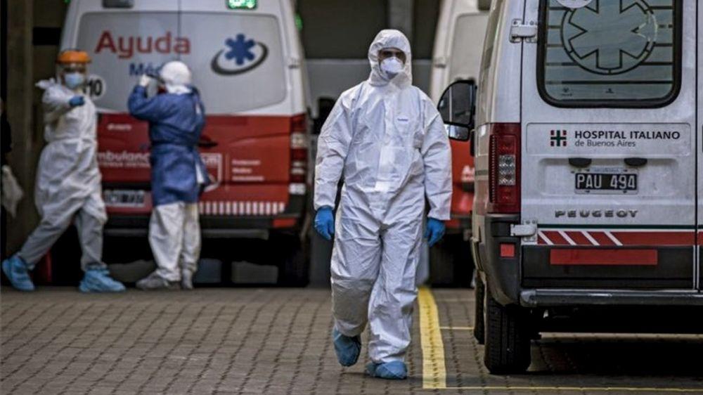 País: Otras 406 personas murieron y 11.712 fueron diagnosticadas