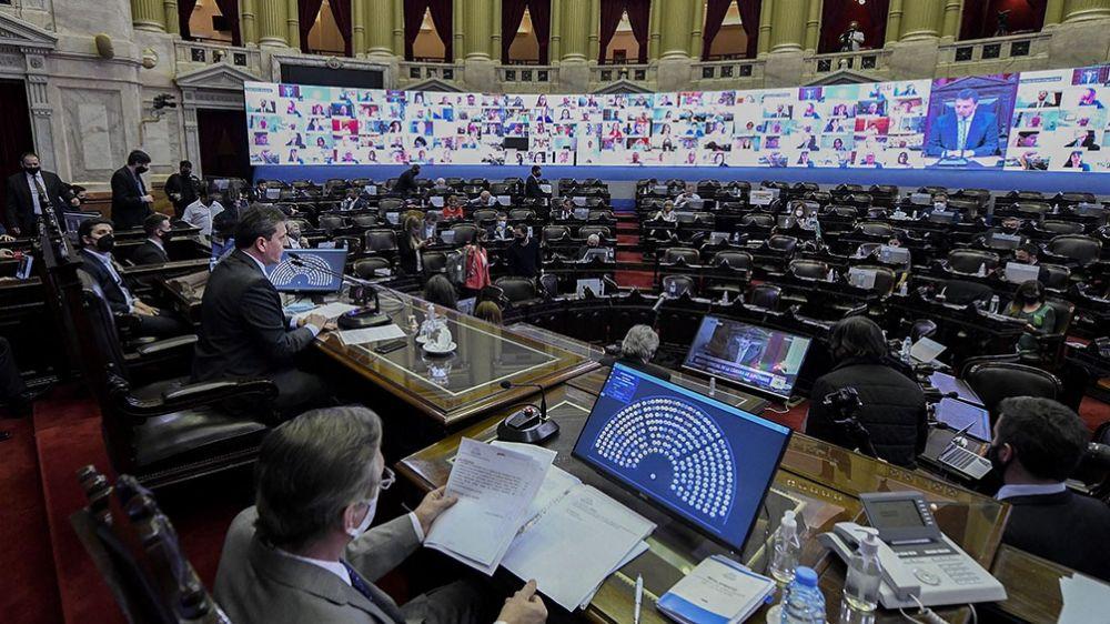 Diputados nacionales tratarán este miércoles el Presupuesto 2021
