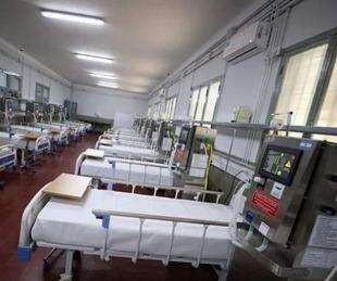 foto: Parte médico de los pacientes internados en el Hospital de Campaña