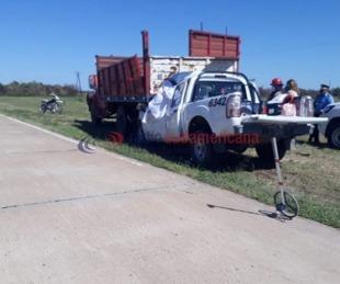 foto: Chaco: Dos agentes del Ministerio de Salud fallecieron en un accidente