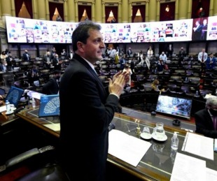 foto: La Cámara de Diputados le dio media sanción al Presupuesto 2021