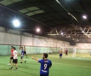 foto: Volvió el fútbol en Monte Caseros con estrictos protocolos sanitarios