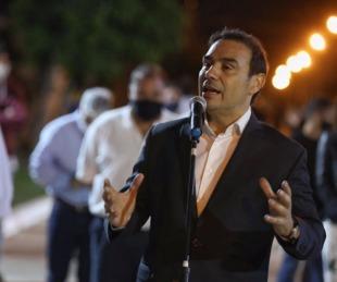 foto: Valdés inauguró pavimentación y entregó bienes de capital en Goya