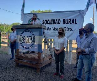 foto: Bella Vista realizó el primer remate ganadero de pequeños productores