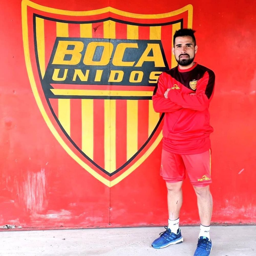 Nicolás Monje: Vine a jugarme la vida en Boca Unidos