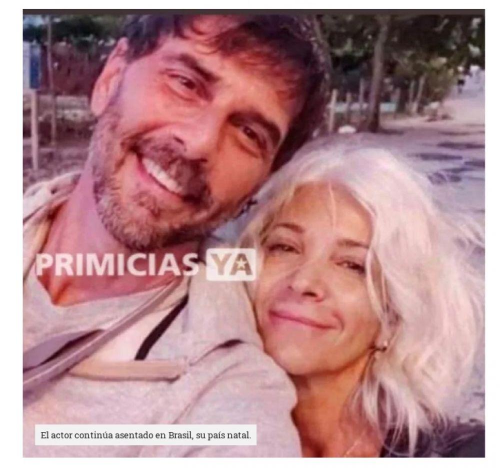 La impactante foto de Juan Darthés en Brasil junto a su esposa
