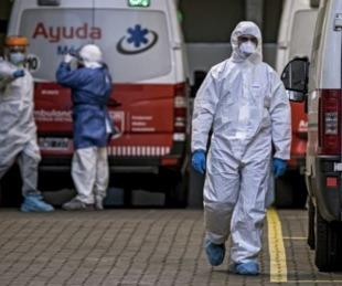 foto: Otras 372 personas murieron y hay 13.267 contagios en el país