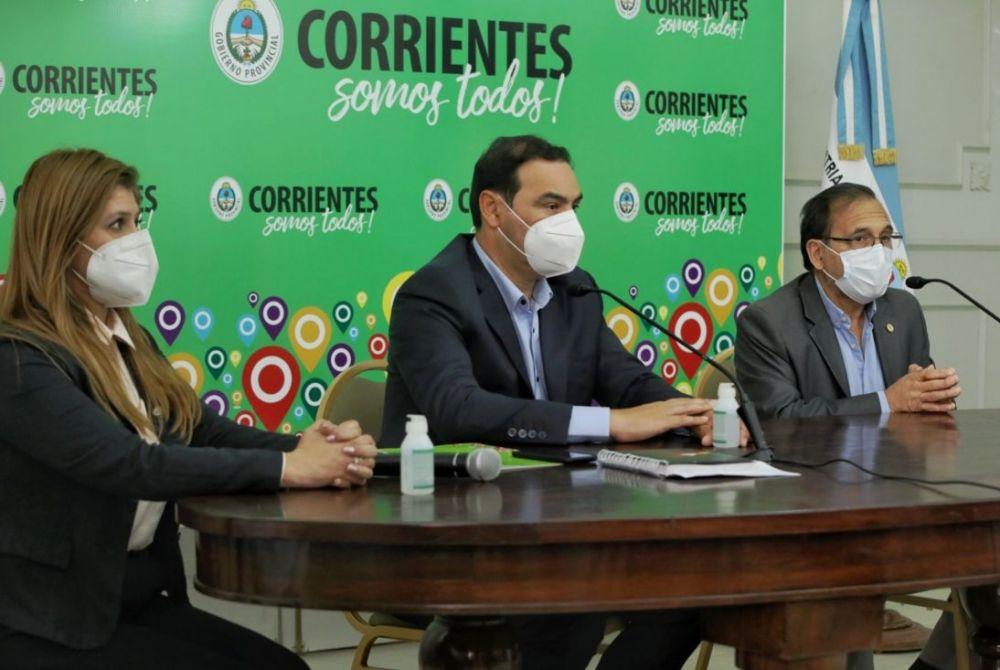 El Gobernador Valdés convocó al Comité de Crisis de Corrientes