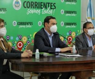 foto: El Gobernador Valdés convocó al Comité de Crisis de Corrientes