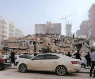 foto: Violento terremoto de magnitud 7 impactó en Turquía y Grecia