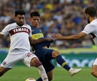 foto: Lanús-Boca, Copa de la Liga Profesional: hora, TV y formaciones