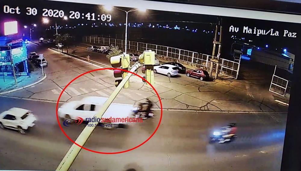 Se desmiente involucramiento del intendente en accidente de tránsito