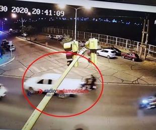 foto: Se desmiente involucramiento del intendente en accidente de tránsito
