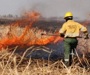 foto: Incendios: crearían un comité con fuerzas de Nación y provincias